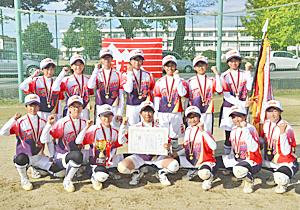 東和が2度目の制覇 福島県中学新人ソフト女子