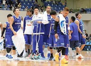 島根、ホーム2連敗 バスケBリーグ2部