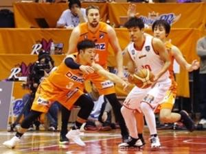 バスケ新潟破竹の5連勝、富山に79-57で勝利