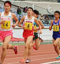 佐々木塁、3000メートル7位 陸上ジュニア五輪男子A
