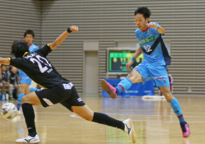 エスポラーダ勝利に観客歓喜 釧路でフットサル公式戦