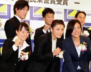 八木「東京へ毎日を大事に」 ALSOK五輪報告