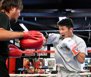 華井、勝利がすべて 3日ボクシングタイトル戦