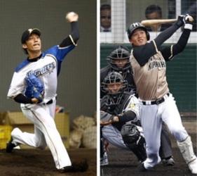 吉川投手と石川外野手が巨人へ 日ハム、トレード成立発表