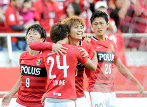 【速報】J1浦和、年間1位決定…横浜Mと1―1
