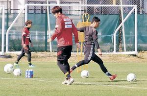 J2残留へ「勝利を」 金沢、6日にホーム最終戦