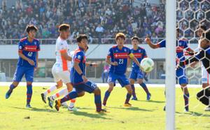 J3長野、FC東京U23に競り勝つ