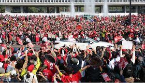 41年ぶり 広島カープ優勝パレード