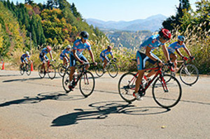 郡上の坂道駆けろ 初の自転車サイクルヒルクライム