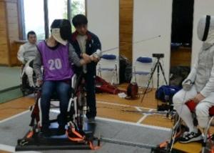 パラリンピック選手候補を探せ 福岡で競技体験会