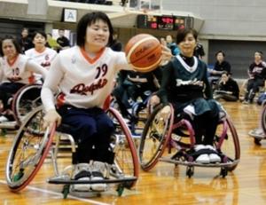 車いすバスケの強豪集う 神戸で全日本女子選手権