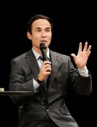 米大リーグの経験語る 高砂で長谷川滋利さん講演