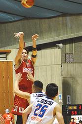 バスケB2岩手、12敗目 茨城に65-81