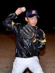 山下君、野球日本代表に U12は高知県内初選出