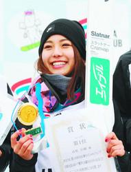 高梨、SBC杯圧勝 竹内は全日本ジャンプ選手権V