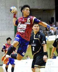 琉球敗れる、大同特殊鋼に24―33 ハンド日本リーグ