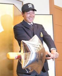 阪神 1位指名の大山と仮契約 「夢の舞台で貢献」