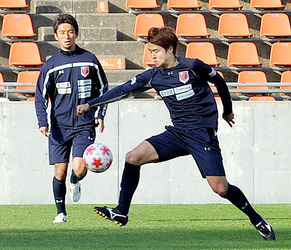 J1大宮 新メンバー起用か 9日に天皇杯の横浜FC戦