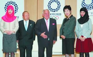 東京五輪 国際ウエイトリフティング連盟会長、小池知事を訪問