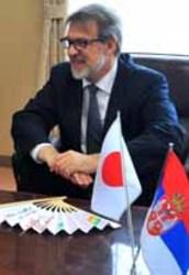 東京五輪 防府のバレー合宿施設視察 駐日セルビア大使