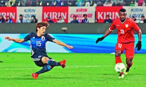 日本、オマーンに快勝 サッカー親善試合、大迫2発