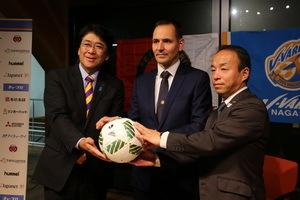 J2長崎、オランダ名門クラブと提携