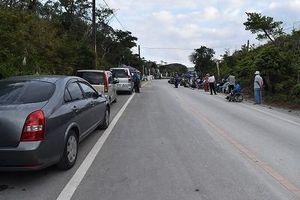 ゲート前から車両消える 自転車ツール・ド・おきなわ開催で