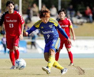 サッカー全国地域CL開幕 FC今治まず1勝、北海道下す