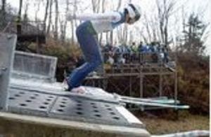 公式練習、感触確かめる 13日に全日本選手権ジャンプ