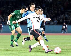 J1浦和、8強ならず サッカー天皇杯