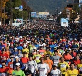 おかやまマラソン1.5万人走る 沿道で多くの市民が応援