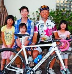 友情ペダル「熊本に勇気を」 自転車ツール・ド・おきなわ