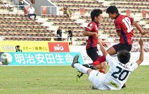 J3琉球、痛い分け 鳥取と1―1
