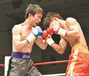 新座市職員ボクサーが判定負け 東日本新人王決勝戦