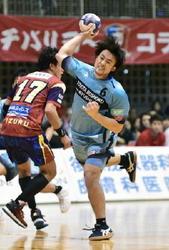 日本ハンドボールリーグ トヨタ紡織、2勝目遠く