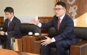 楽天 球団首脳が秋田訪問 「こまち」以外でも公式戦を