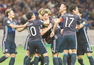日本代表、W杯へ大きな1勝 サウジ破り2位浮上