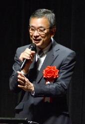 Jリーグ 村井チェアマン鳥栖市民文化会館で講演