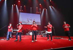 カープ V7祝うライブを広島市で開催