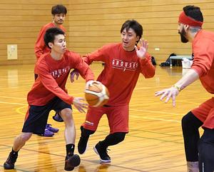 実戦練習に手応え バスケB1富山、19日から横浜戦