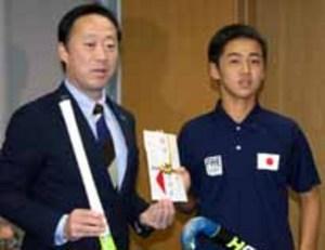 玖珂中ホッケー部の山本さん、日本代表入り 豪の大会へ
