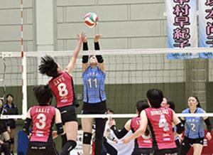 JAぎふ4連敗 バレー女子チャレンジL1