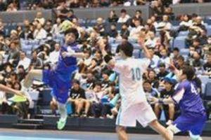 徳島県内4会場で開幕 全日本学生ハンドボール