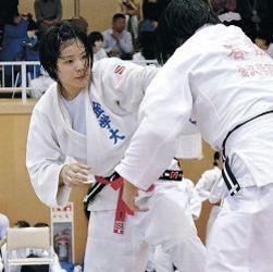 橋高、渡辺V 湊谷杯全国学生柔道、金沢学院大勢が奮闘