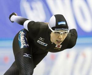 高木美1000メートル3位 スピードW杯第2戦