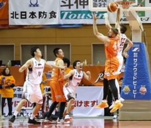 新潟、首位川崎に屈する バスケB1中地区4位に落とす