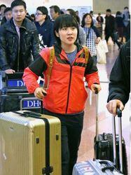 卓球 平野美宇が中国から帰国 「いい経験になった」