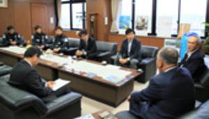 FC伊勢志摩 市長に認定の支援要請 Jリーグ「百年構想クラブ」