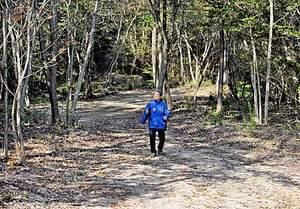 クロカンコース自然豊か 滋賀・野洲の希望が丘に新設