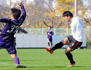 武藤、2試合連続2得点 J1浦和、明大と練習試合